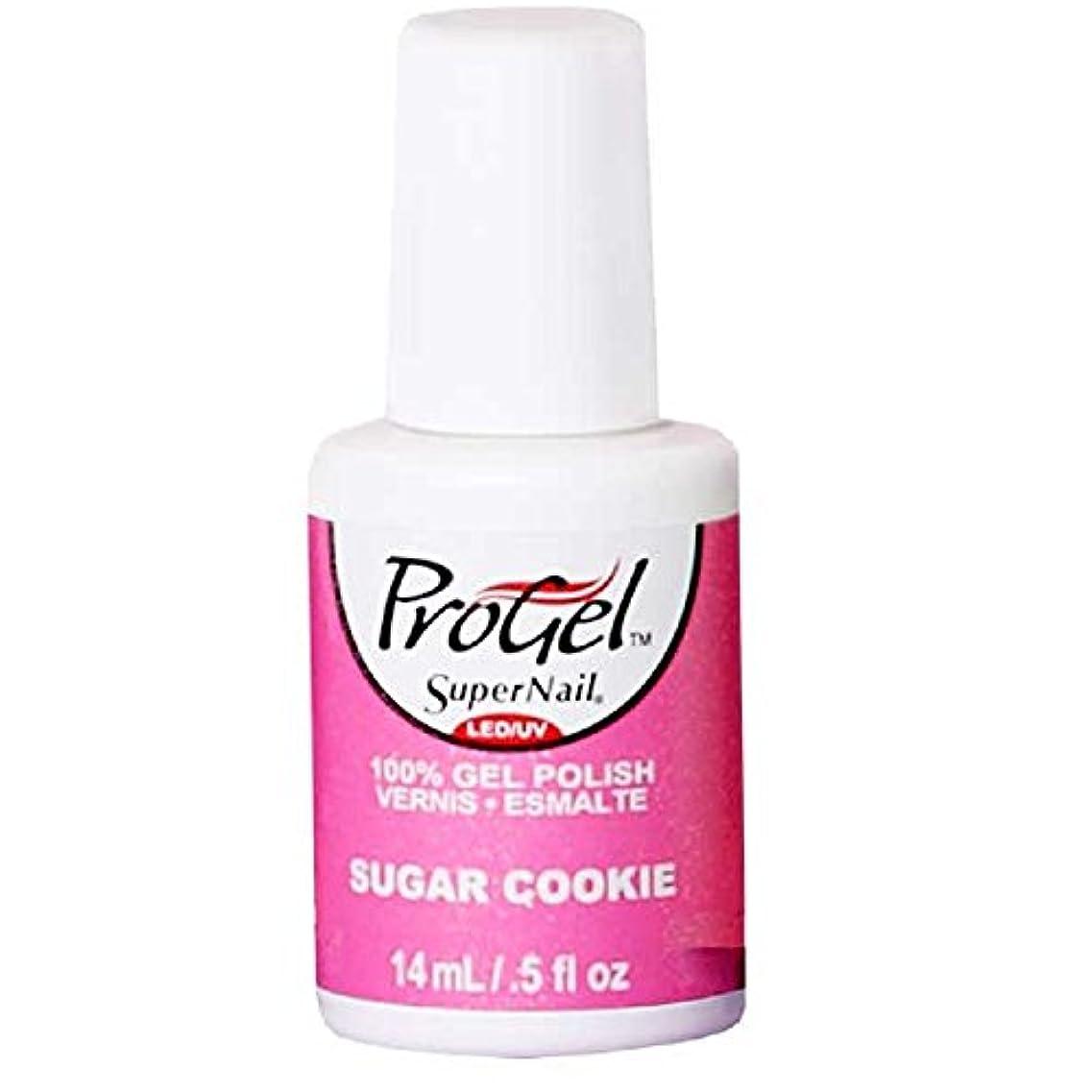 退屈なビーズボールSuperNail ProGel Gel Polish - Sugar Cookie - 0.5oz / 14ml