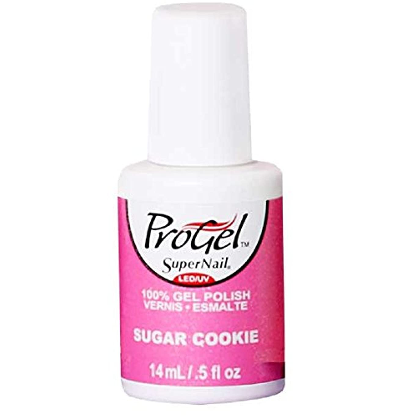 口サバント磁器SuperNail ProGel Gel Polish - Sugar Cookie - 0.5oz / 14ml
