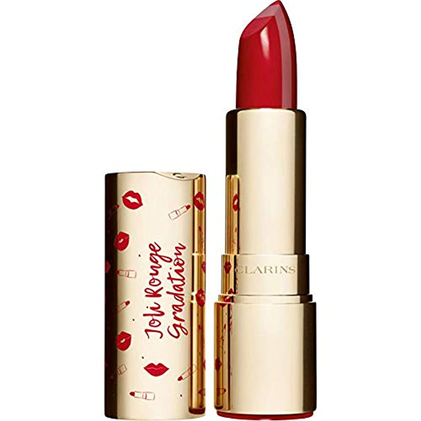 分岐する羊の服を着た狼芝生[Clarins ] クラランスジョリルージュグラデーションツートンカラーの口紅3.5グラム802 - 赤のグラデーション - Clarins Joli Rouge Gradation Two-Toned Lipstick...