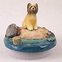 "Briard CandleトッパーTiny One "" A Day on the beach """