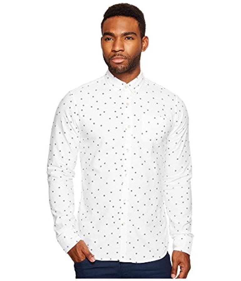 ロードされた四回マーガレットミッチェル[スコッチ&ソーダ] Scotch & Soda メンズ Ams Blauw Slim Fit All Over Printed Shirt in Seasonal Pattern トップス Combo A SM [並行輸入品]