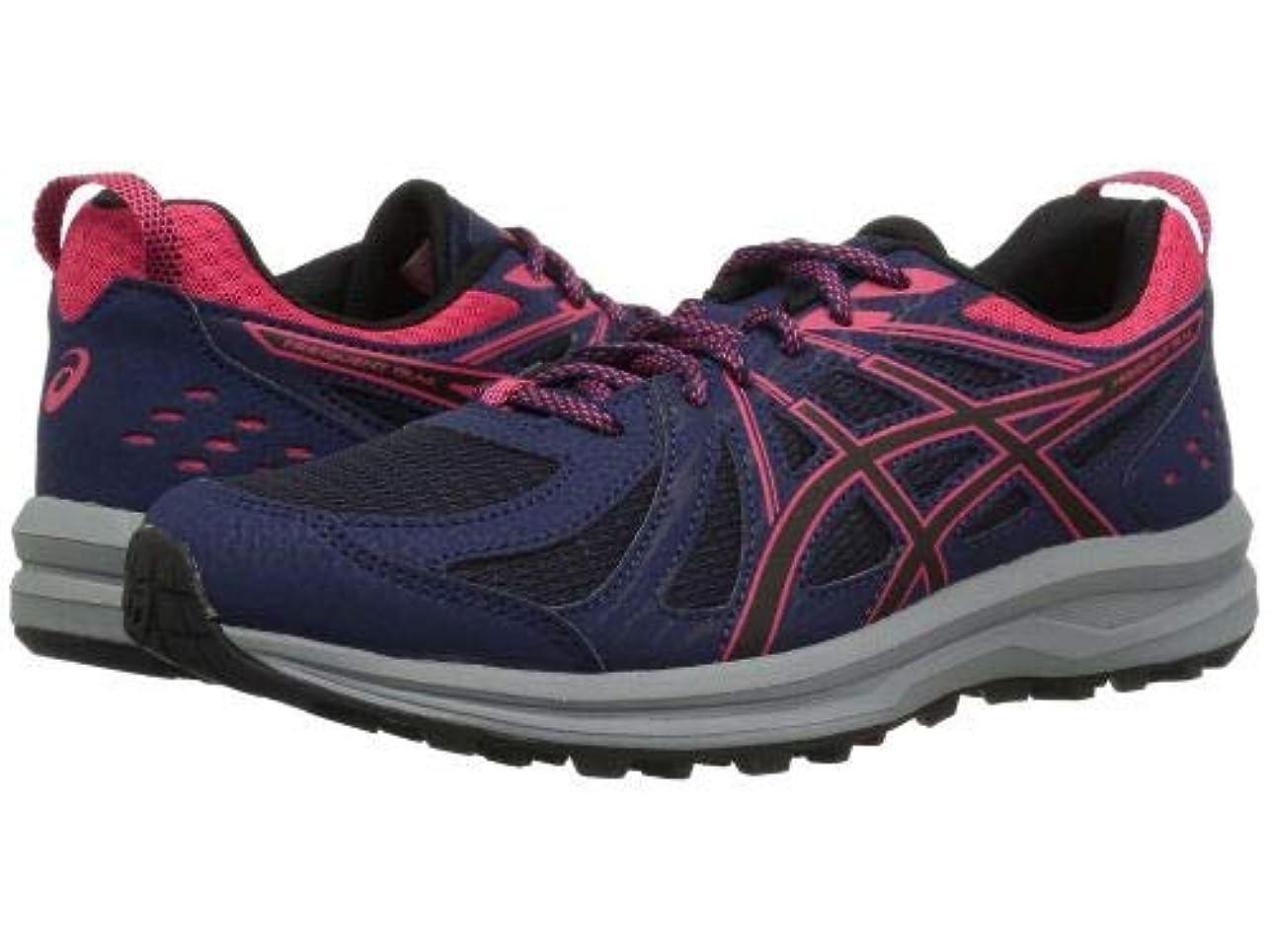 上へロマンス微生物ASICS(アシックス) レディース 女性用 シューズ 靴 スニーカー 運動靴 Frequent Trail - Peacoat/Pixel Pink [並行輸入品]