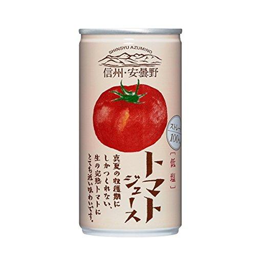 ゴールドパック 信州・安曇野 トマトジュース(低塩) 190g...
