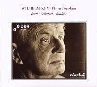 バッハ:フランス組曲第5番、シューベルト:4つの即興曲、ブラームス:カプリッチョ、ラプソディ ケンプ(1963)
