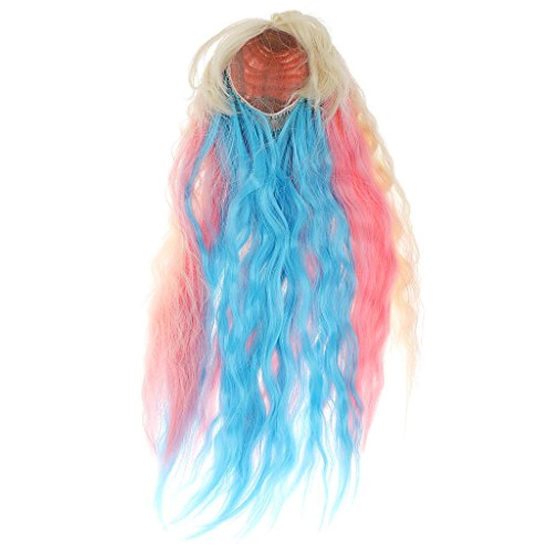 Dovewill 1/6 ブライス人形 ドール かわいい ファンタジー 波状 巻き毛 かつら ヘアピース 贈り物
