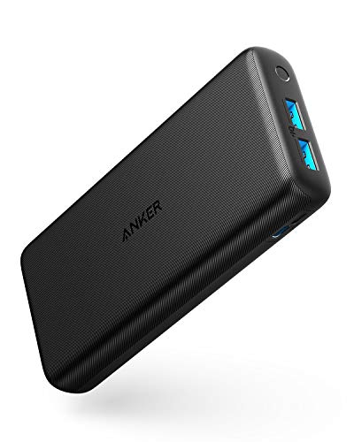 Anker PowerCore Lite 20000 モバイルバッテリー 大容量 20000mAh USB-C入力ポート PowerIQ iPhone&Android 対応 PSE認証済