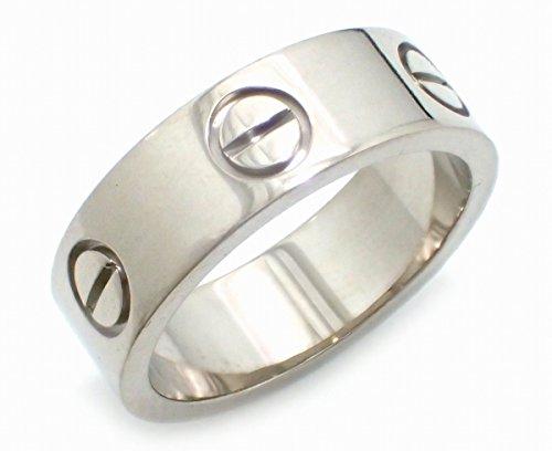 [カルティエ] Cartier ラブリング LOVE 指輪 9号 #49 K18WG 750WG ホワイトゴールド リング 指輪 B4084700 B4084749