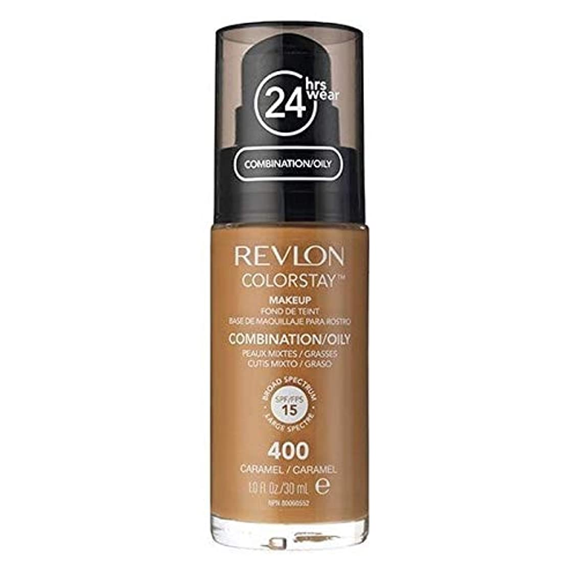 堀悲しむピット[Revlon ] レブロンカラーステイ基盤コンビ/オイリーキャラメル30ミリリットル - Revlon Color Stay Foundation Combi/Oily Caramel 30ml [並行輸入品]