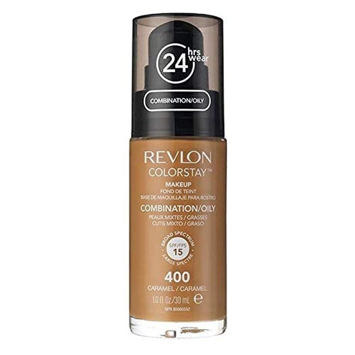 合成へこみ牽引[Revlon ] レブロンカラーステイ基盤コンビ/オイリーキャラメル30ミリリットル - Revlon Color Stay Foundation Combi/Oily Caramel 30ml [並行輸入品]