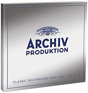 Archiv Produktion: Classical Recordings 1956-1982 [12 inch Analog] by Archiv Produktion: Classical Recordings 1956-1982 (B00BWUPF9I)   Amazon price tracker / tracking, Amazon price history charts, Amazon price watches, Amazon price drop alerts