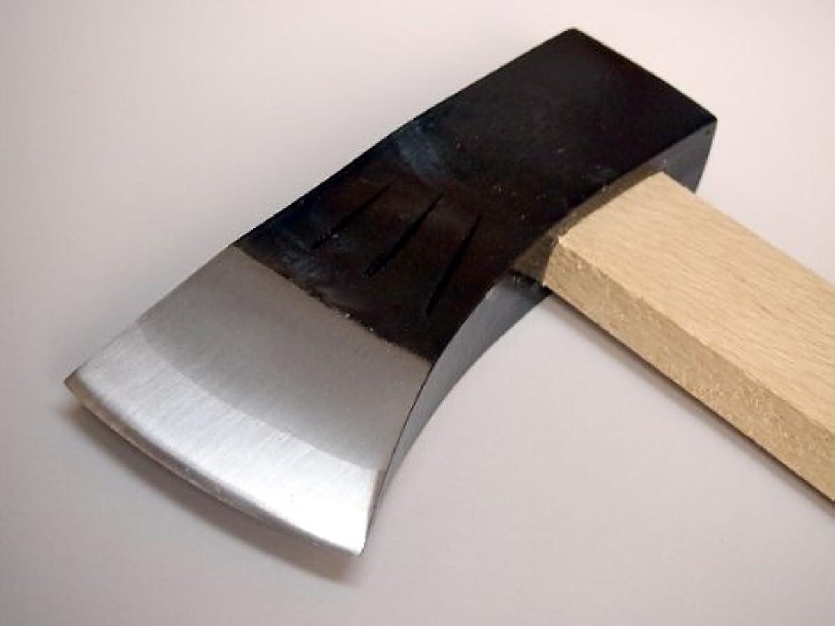 楽しむスポーツマンうがい薪割り 斧 土佐打刃物 火造り オノ 2.2K
