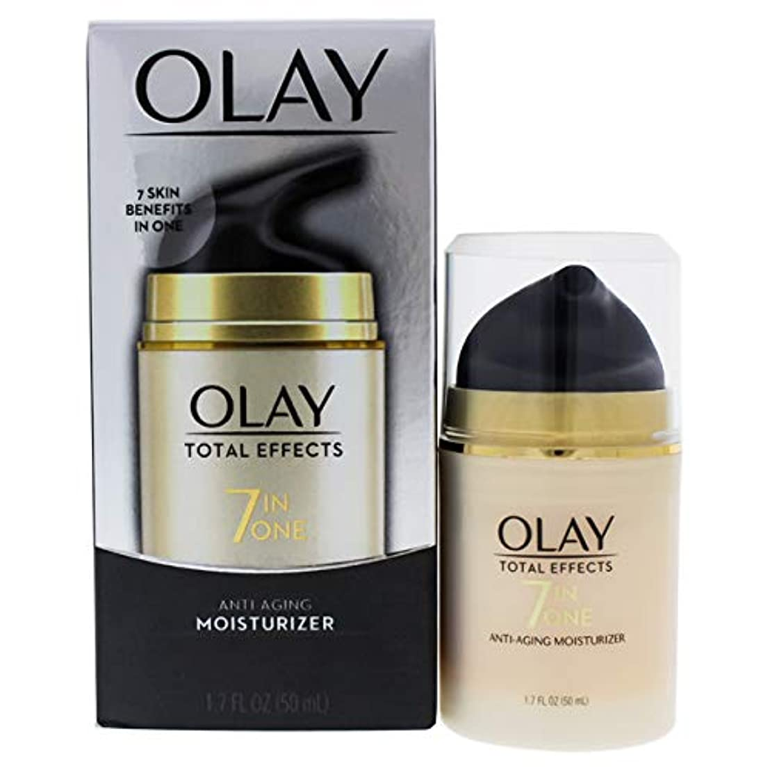 賄賂肌訴える海外直送肘 Olay Total Effects Daily Moisturizer, 1.7 Oz
