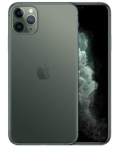 iPhone11 Pro Max 6.5インチ SIMフリー 超広角カメラ【米国版】 (256GB, ミッドナイトグリーン) [並行輸入品]