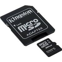 Professional Kingston 32GB microSDHCカードfor Sony c6833のスマートフォンカスタム書式と標準SDアダプタ。(クラス4。