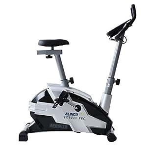 ALINCO(アルインコ) プログラムバイク ブラック AFB6010 負荷調節16段階 トレーニングメニュー 体脂肪測定付