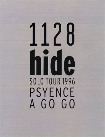 hide SOLO TOUR 1996 PSYENCE A GO GOの詳細を見る