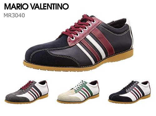 [マドラス] マリオバレンチノ MR3040 メンズ レザースニーカー MARIO VALENTINO 靴