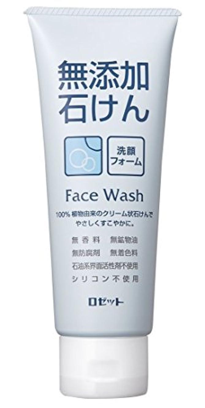 ボウル愛国的なぐるぐる【ロゼット】無添加石けん 洗顔フォーム 140g
