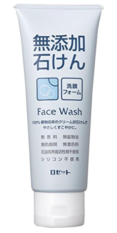 破壊的なスーツケース保護する【ロゼット】無添加石けん 洗顔フォーム 140g