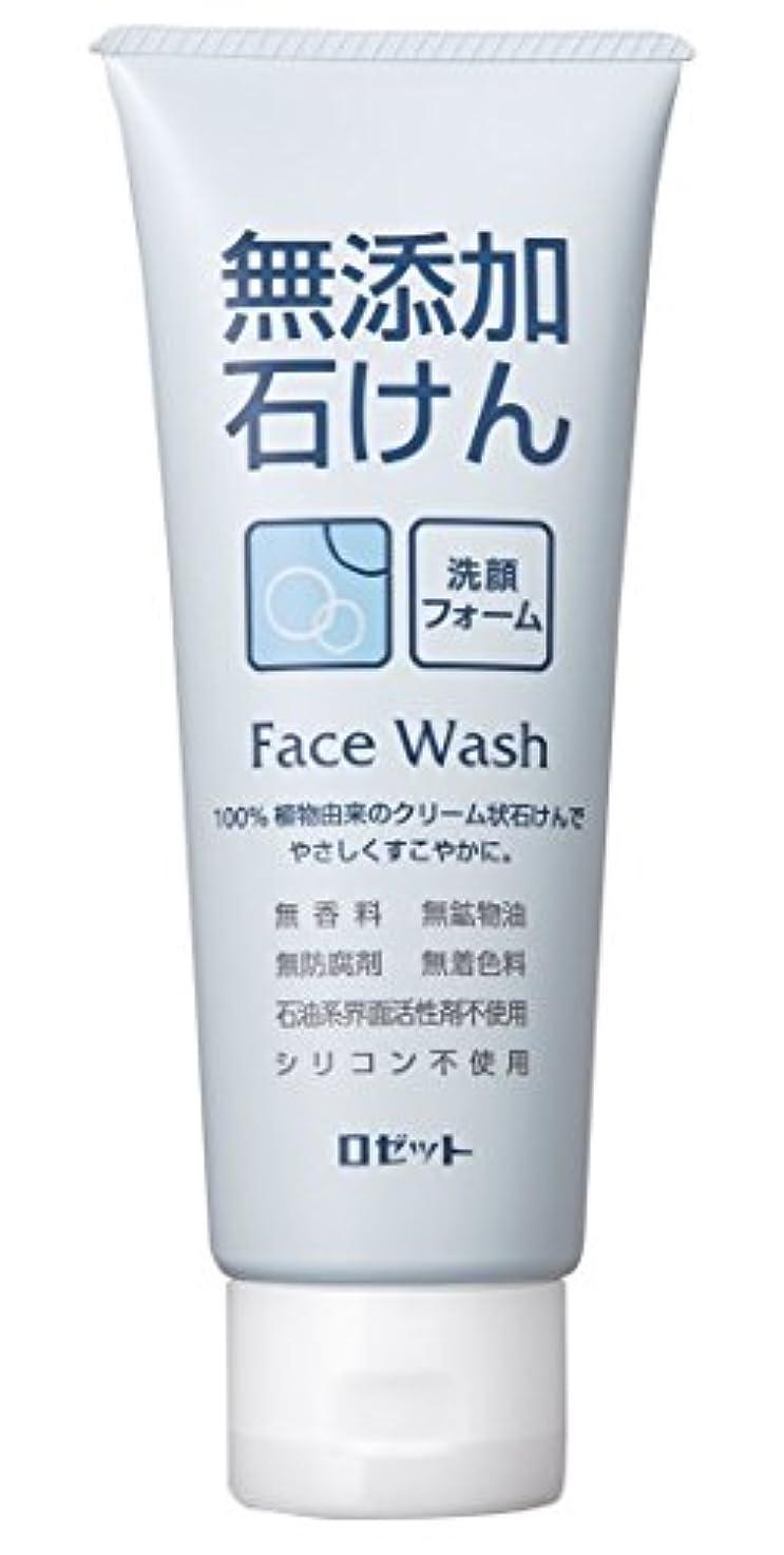 画面衝突半ば【ロゼット】無添加石けん 洗顔フォーム 140g