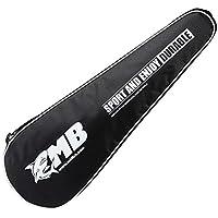 調整可能なショルダーストラップバドミントンラケットカバーバドミントンラケットバッグテニスバッグ(2ラケット)、d