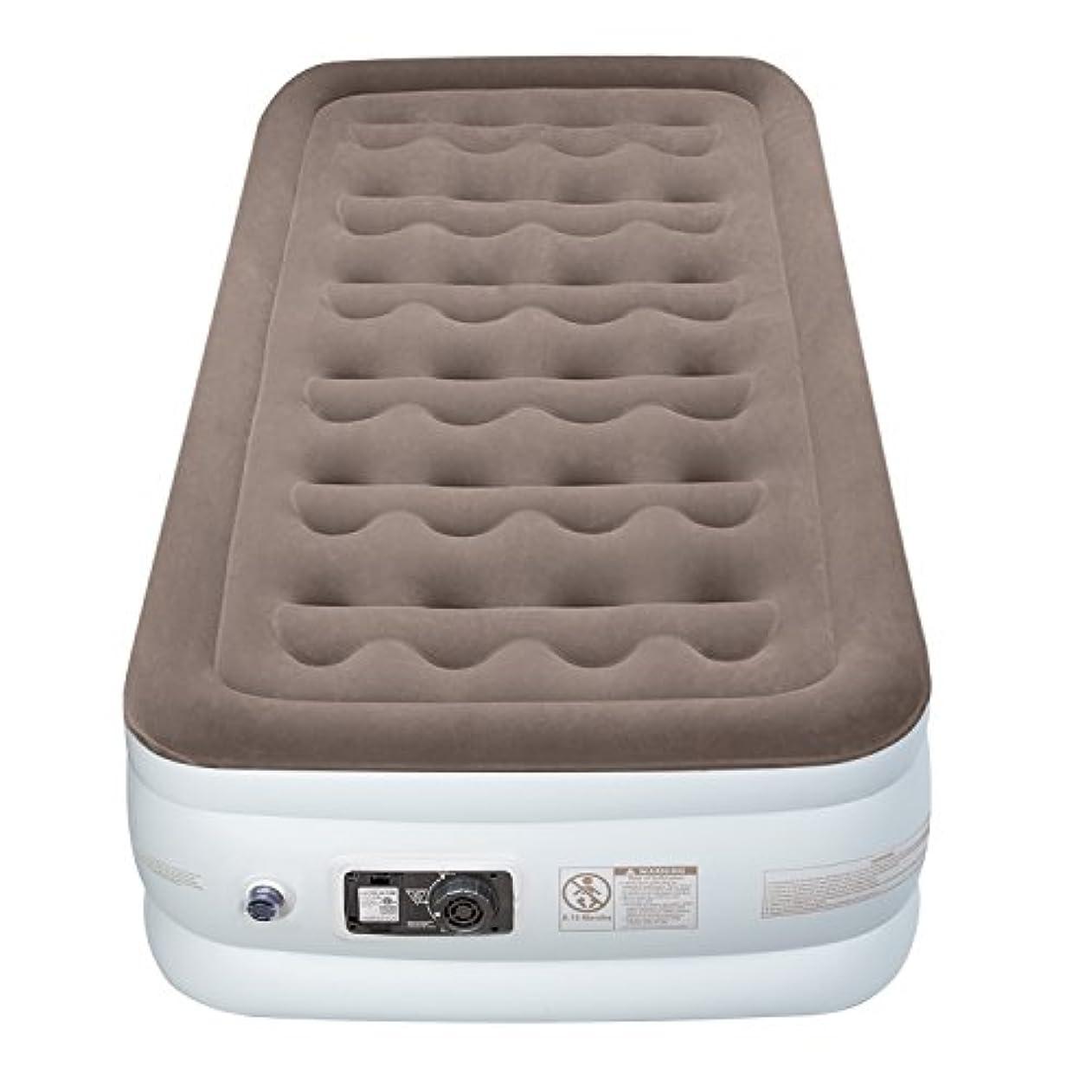 時代半球均等にEtekcity Upgraded Air Mattress Blow Up Elevated Raised Guest Bed Inflatable Airbed with Built-in Electric Pump, Height 18'', Twin Size 141[並行輸入]