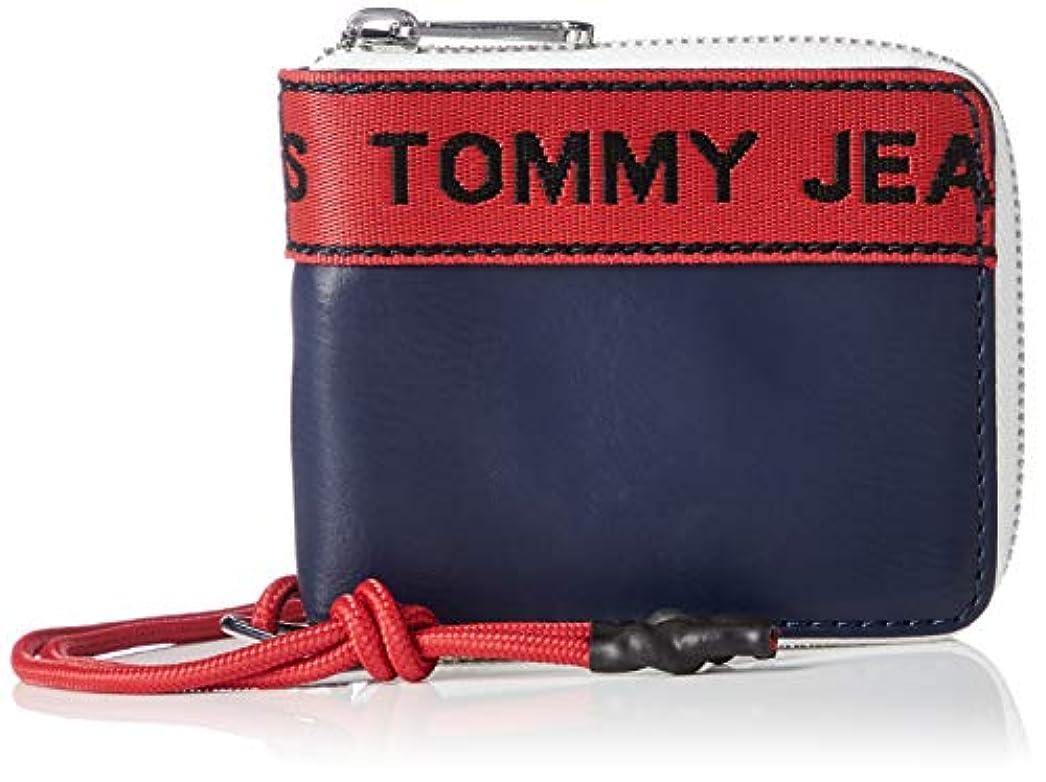 人質単位傾向がある(トミーヒルフィガー) TOMMY HILFIGER 財布 ロゴテープ スモール ウォレット AU0AU00264 ユニセックス