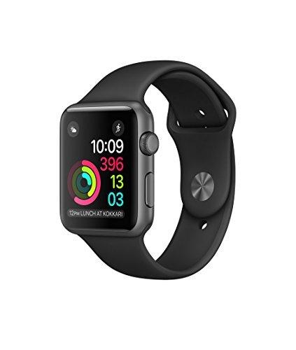Apple(アップル) Apple Watch Series 2 スペースグレイアルミニウムケースとブラックスポーツバンド 42mm MP0G2J/A