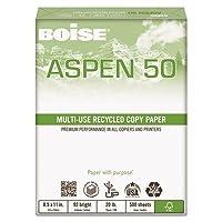 cas055011–Boiseアスペン50%リサイクルオフィス用紙