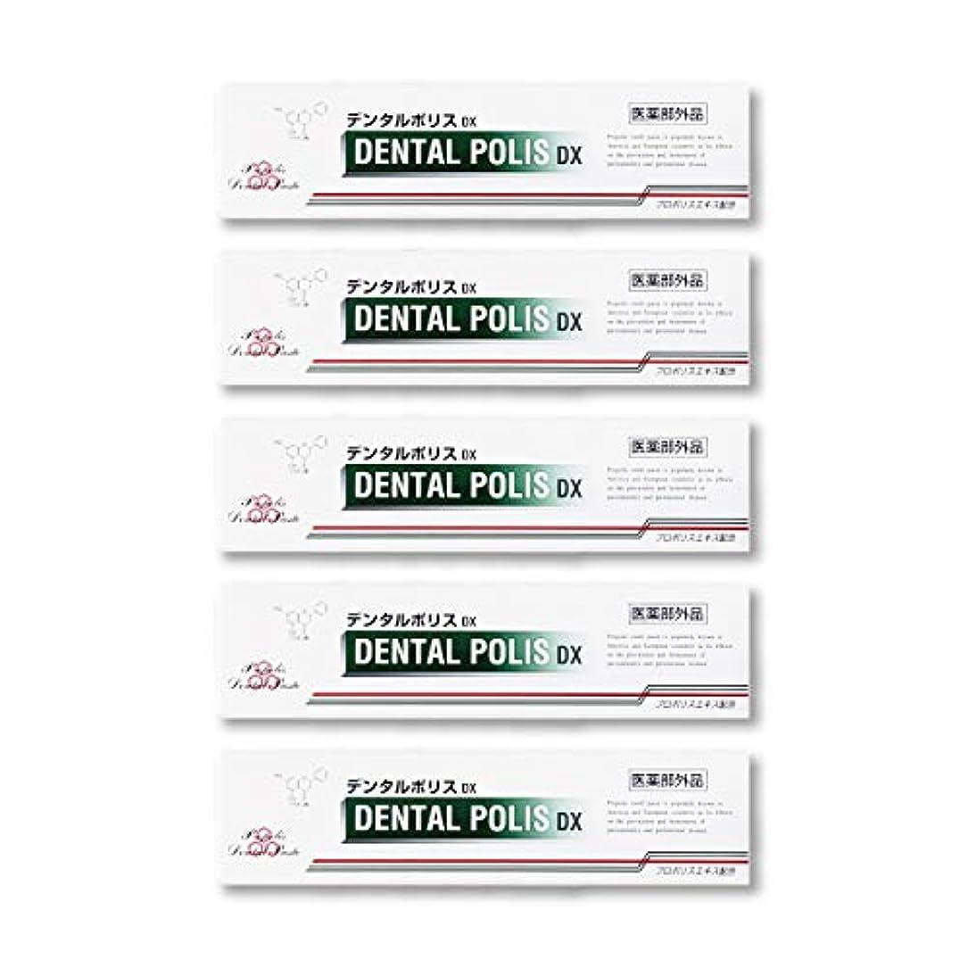 引っ張る検索エンジン最適化踏み台デンタルポリスDX  80g   5本セット 医薬部外品  歯みがき