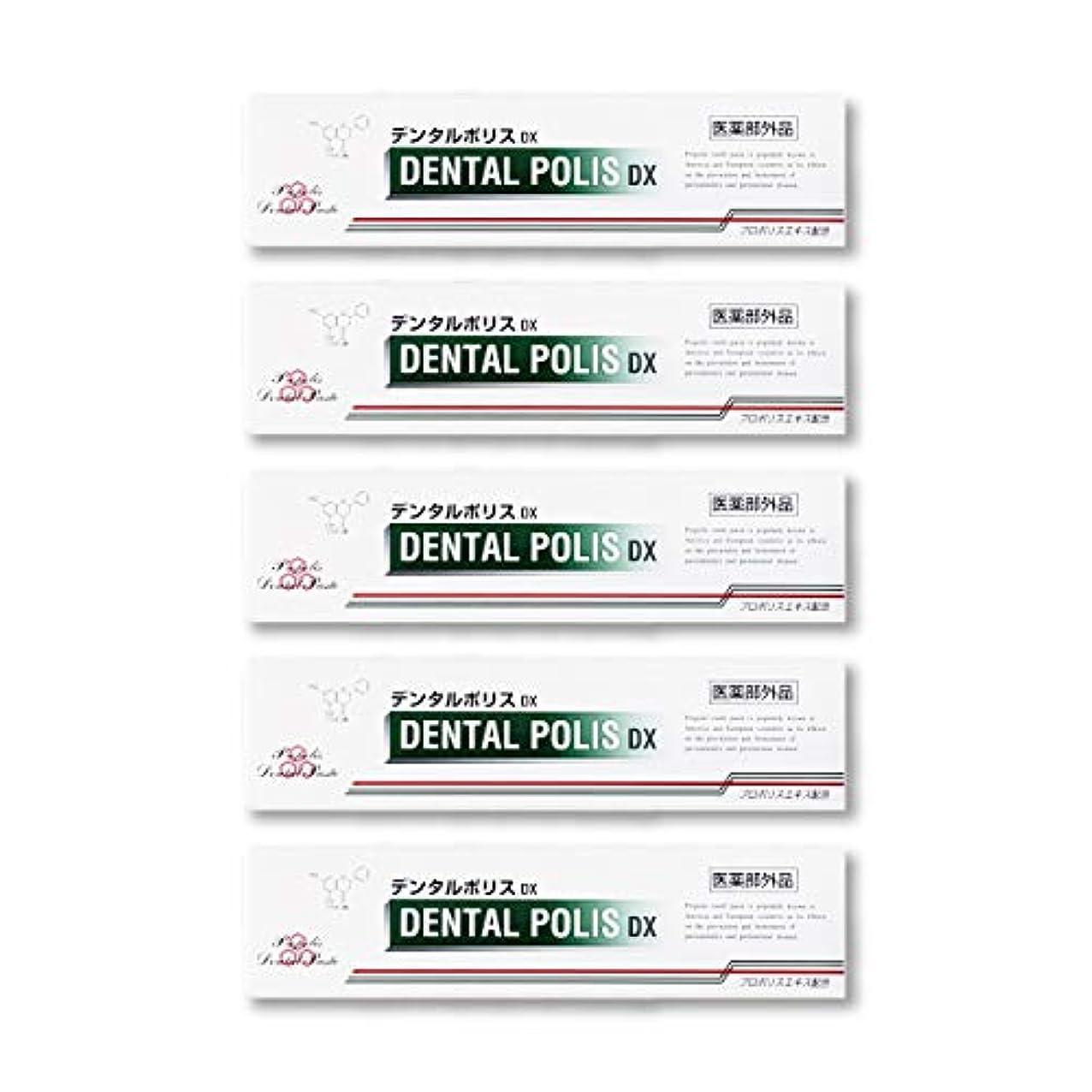 活性化命令平日デンタルポリスDX  80g   5本セット 医薬部外品  歯みがき