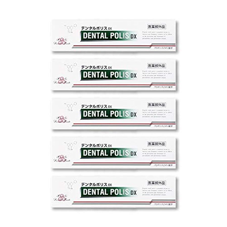 スロベニアアンカーぴったりデンタルポリスDX  80g   5本セット 医薬部外品  歯みがき