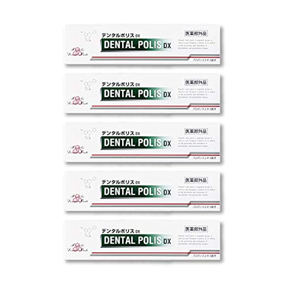 顕現櫛ご飯デンタルポリスDX  80g   5本セット 医薬部外品  歯みがき