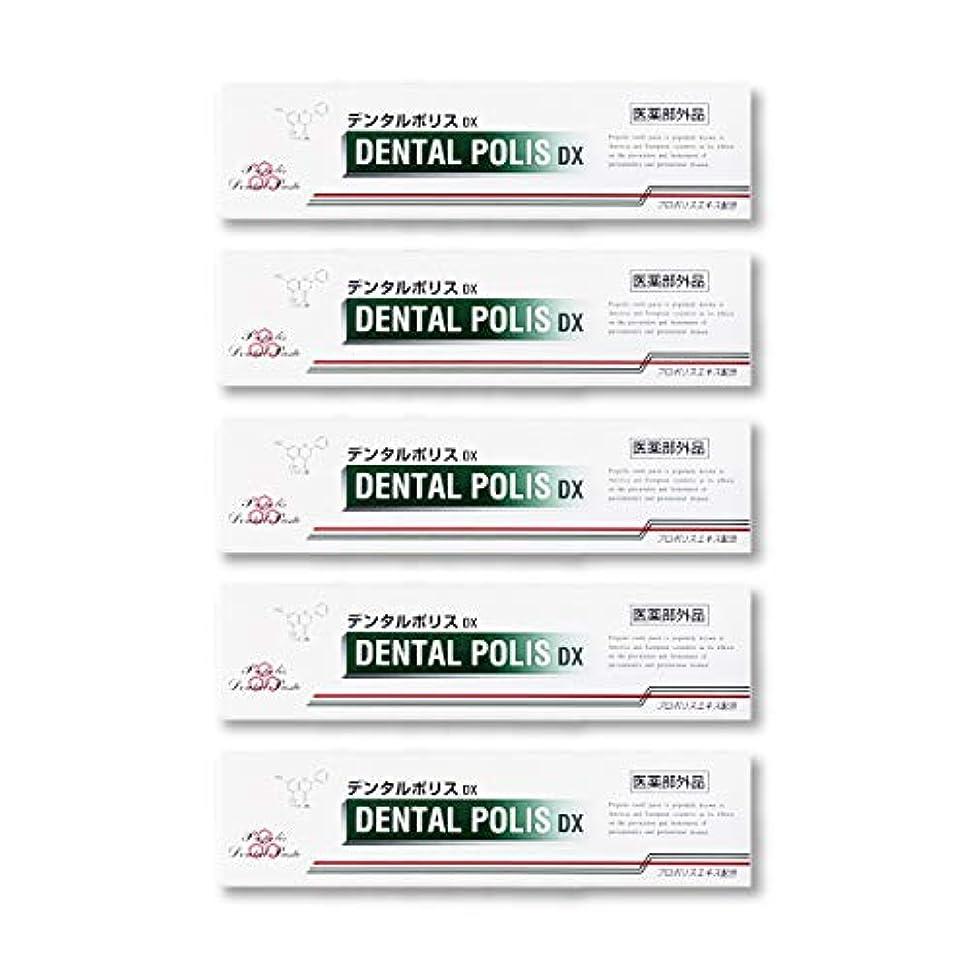 誤解させるなめらかな専門知識デンタルポリスDX  80g   5本セット 医薬部外品  歯みがき
