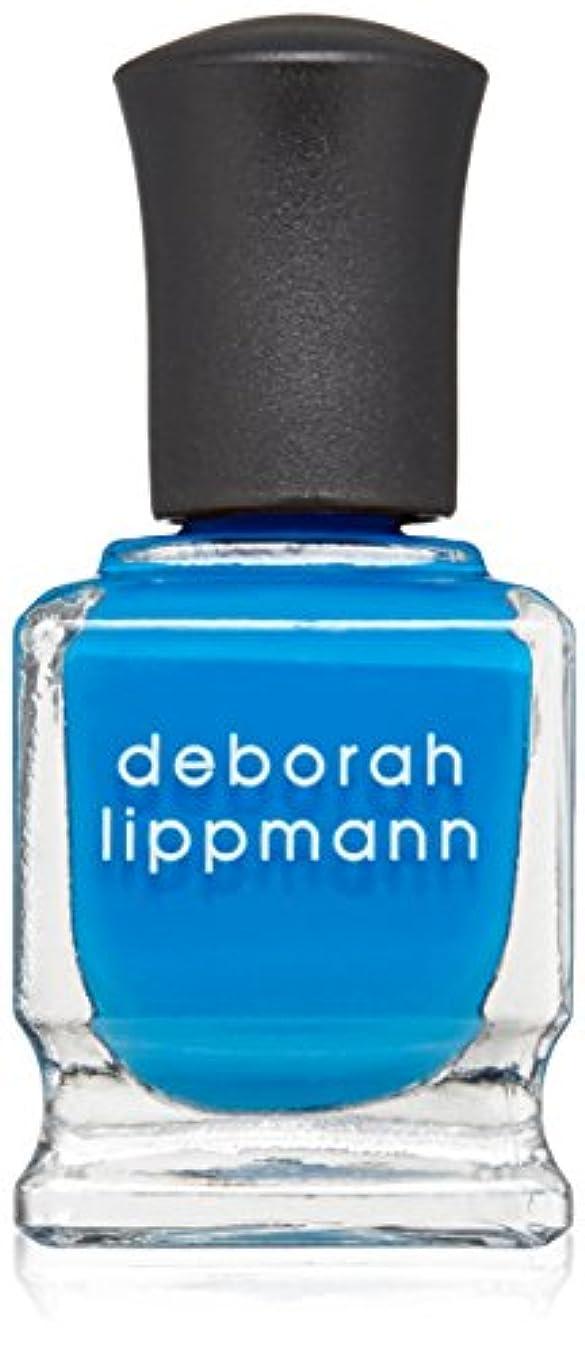 入口シーン先行する[Deborah Lippmann] [ デボラリップマン] ビデオ キル ザ レディオ スター VIDEO KILLED THE RADIO STAR 色ブルー ネイルカラー系統ブルー 5フリー 爪にやさしい 15mL