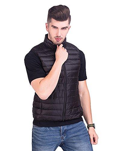 [해외]Semida 울트라 라이트 다운 베스트 남성 초경량 캐주얼 방한 따뜻한 가을 겨울 편리한 수납 봉투 포함 다운 재킷 H078-MA/Semida Ultra Light Down Vest Men`s Ultra Lightweight Casual Warm Warm Autumn Winter Down Jacket with Convenient Stora...