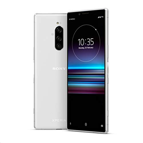 Sony XPERIA 1 Dual SIM (J9110) 128GB/6GB (White/ホワイト) SIMフリー並行輸入品