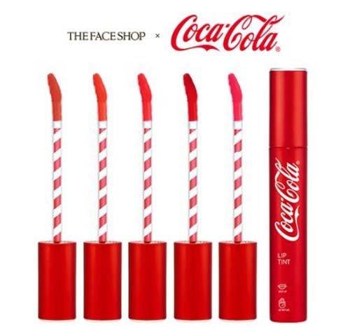 [ザ・フェイスショップ] THE FACE SHOP [コカ・コーラ リップティント 3.1g 限定版] (Coca Cola Lip Tint 3.1g Limited Edition) [海外直送品] (05. コーク レッド)