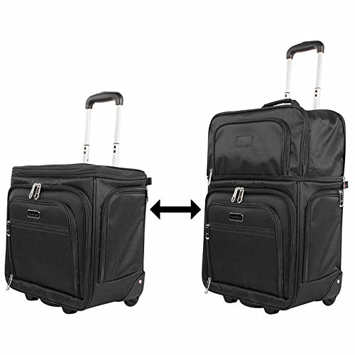 Ciao Luggage Carry On Wheeled飛行機ウィークエンダーunder the seat bag