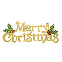 kicode merry christmas door tree hanging letter decor ornaments