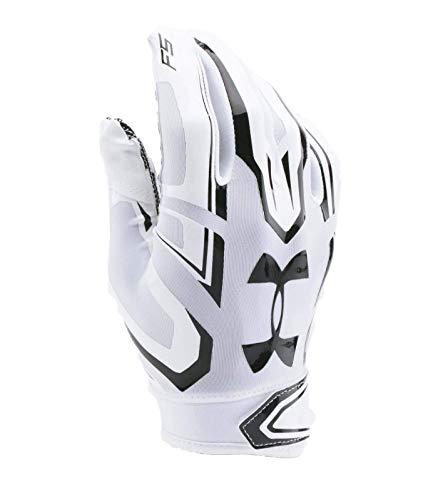 Under Armour Boys ' f5Football Gloves ホワイト