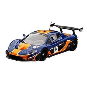 TrueScale Miniatures TSM MODEL 1/18 マクラーレン P1 GTR ブルー/オレンジ