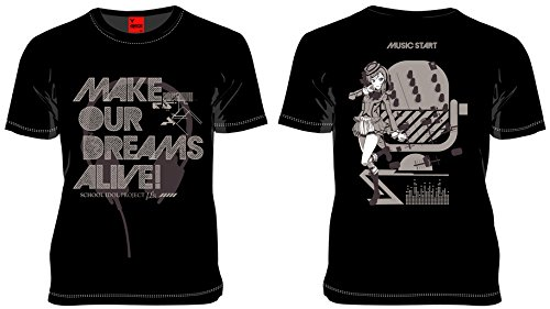 MARS16 ラブライブ 西木野真姫#02Tシャツ ブラック (XL)