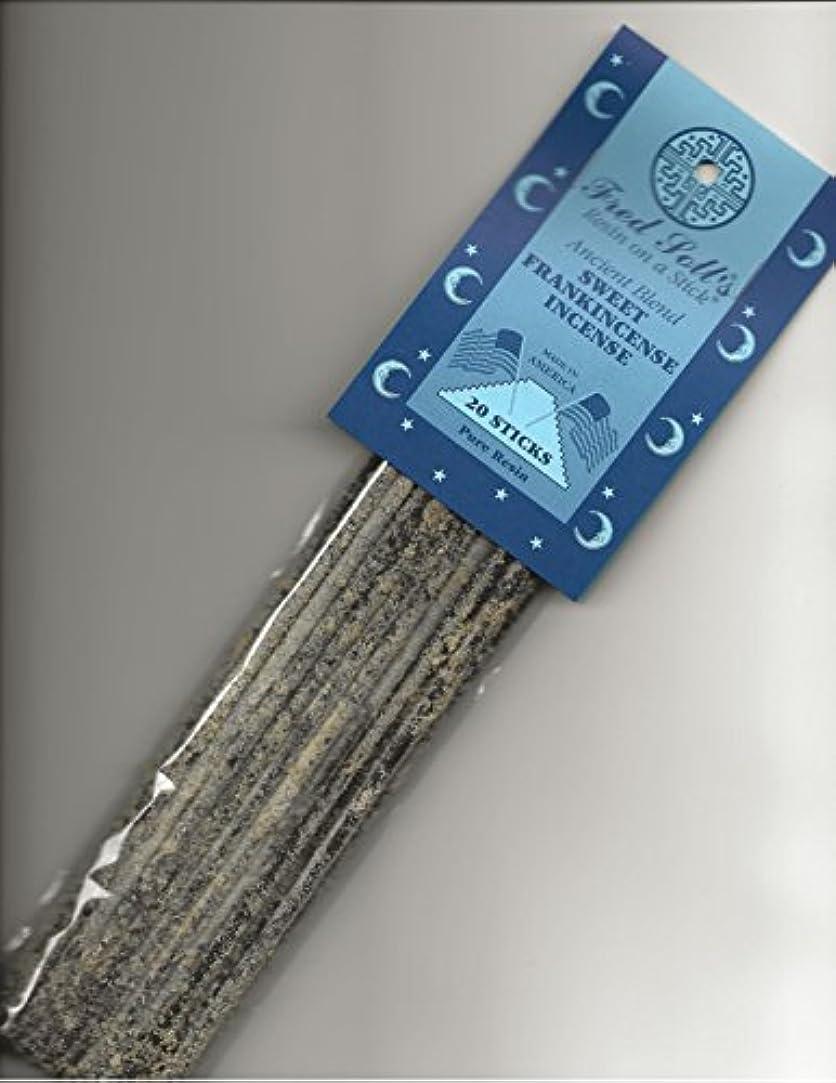 過敏な同情的唯物論Fred Soll 's Sweet Frankincense、古代ブレンドIncense、20 Sticks