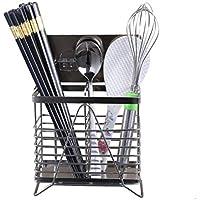 ステンレス製の箸カトラリー収納ラック家庭用壁掛けキッチン排水ラッククリエイティブ箸箱