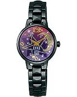 ANNA SUI アナスイ ブラック×パープル グラデーション 数量限定400個 【国内正規品】 腕時計 レディース FCVK309