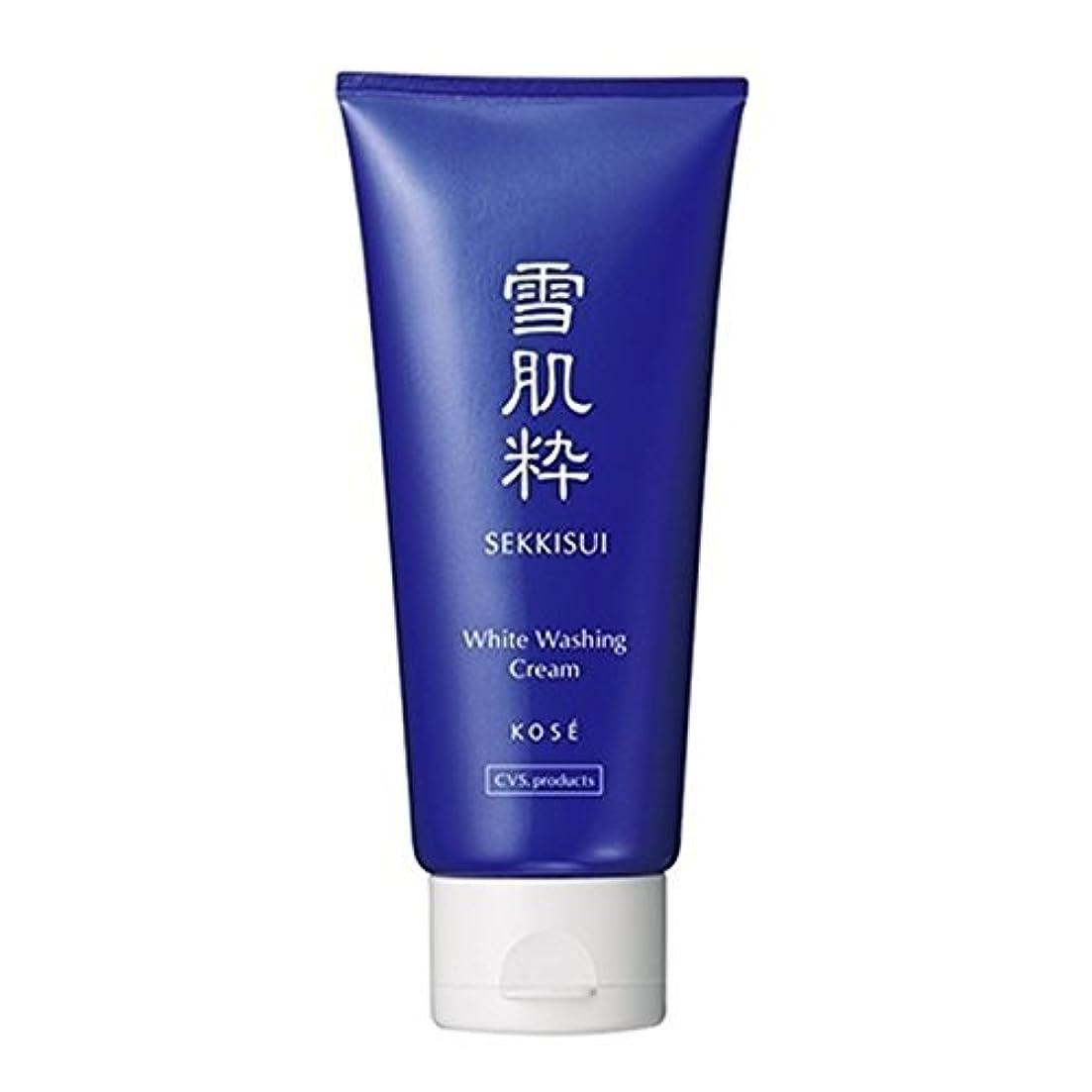 キノコ光電位置づけるコーセー 雪肌粋 ホワイト洗顔クリーム Kose Sekkisui White Washing Cream 80g×3本