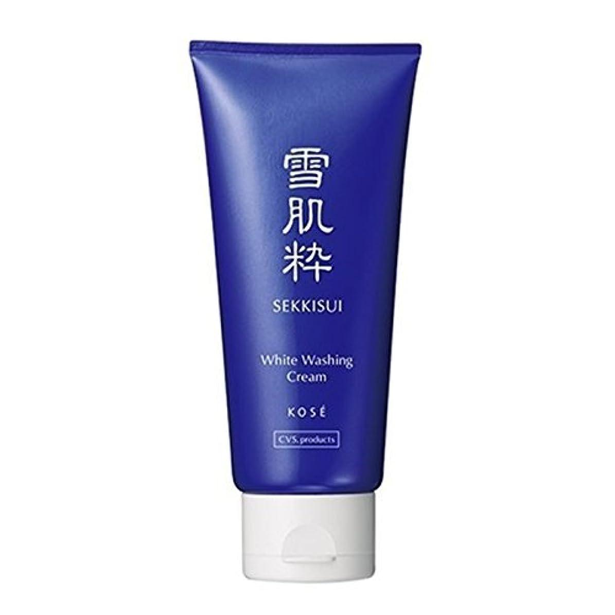 北東パーセントかすかなコーセー 雪肌粋 ホワイト洗顔クリーム Kose Sekkisui White Washing Cream 80g×3本