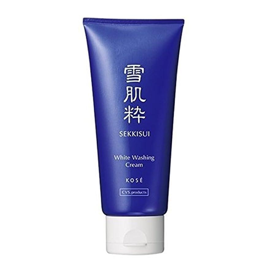 最大のリボン前売コーセー 雪肌粋 ホワイト洗顔クリーム Kose Sekkisui White Washing Cream 80g×3本