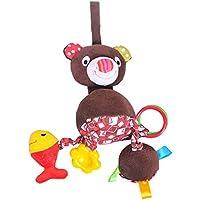 幼児教育玩具ベビーカー銀杏ペンダントベビーギフトをハンギング